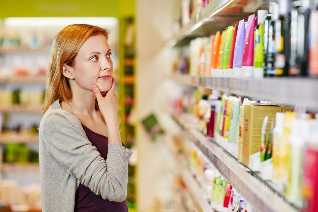 Вернуть косметику качественую и бракованную в магазин